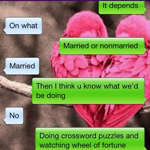 romance is dead married life funny