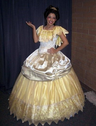 Beauty and the Beast cosplay belle - 7647121664