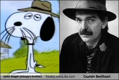 spike beagle hats snoopy totally looks like cartoons captain beefheart funny - 7647448832