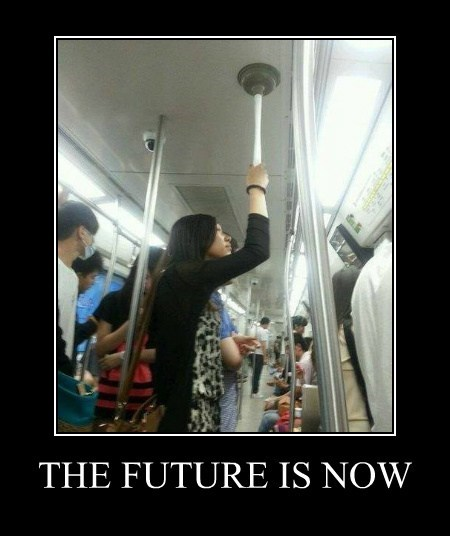 mother,Subway,plunger,funny