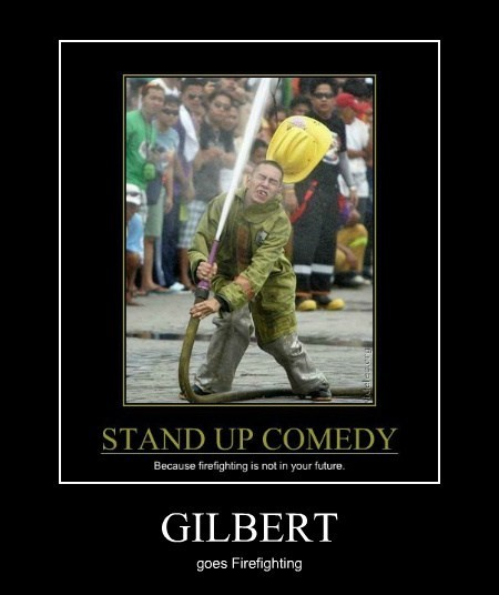 Gilbert Gottfried fire fighter funny - 7647979520