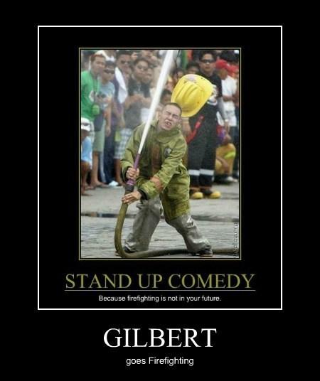 Gilbert Gottfried fire fighter funny - 7647979520