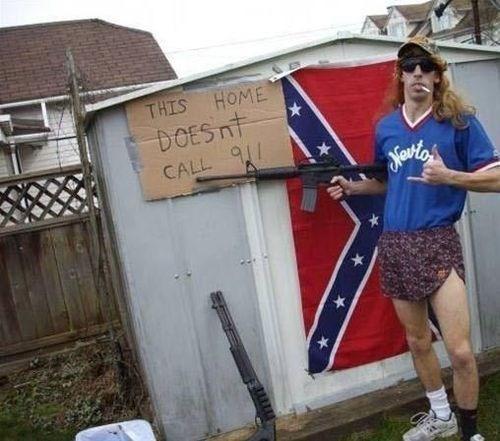 guns pantless rednecks funny - 7648982016