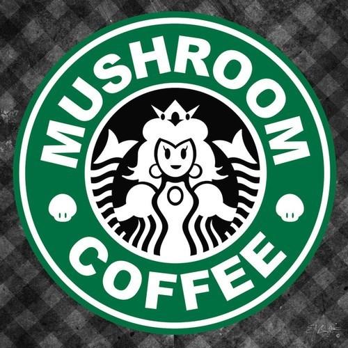 design Starbucks mario - 7649043968