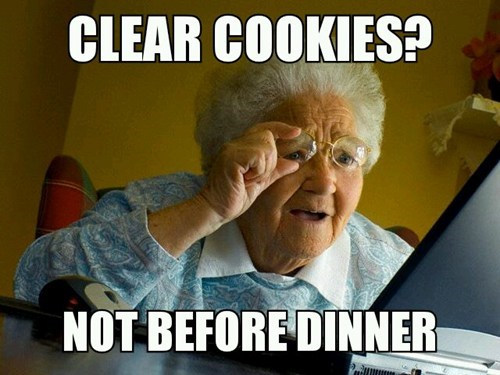 Memes,cookies,internet surprise grandma
