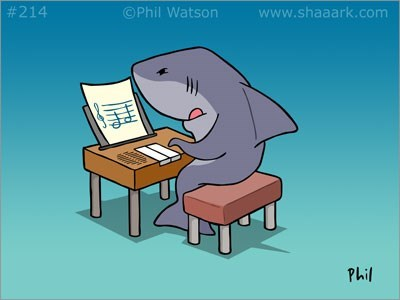 piano jaws shark Music g rated - 7649179648
