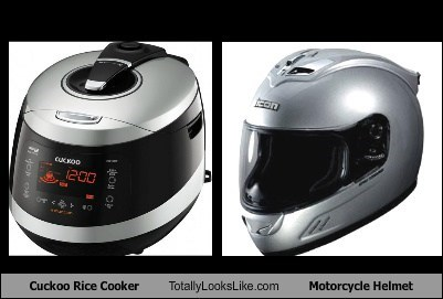 helmets,rice cooker,totally looks like,funny
