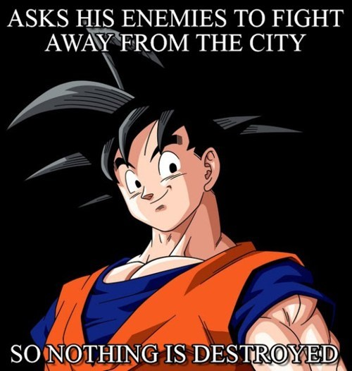 good guy goku anime Memes - 7649364736