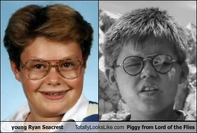 Ryan Seacrest piggy totally looks like funny lord of the flies - 7649366272