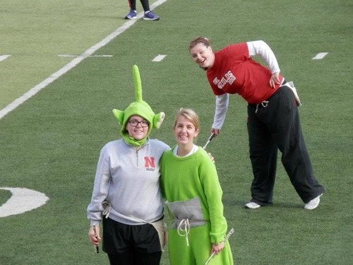photobomb,teletubbies,Band Geek,band nerd,dipsy,marching band,funny