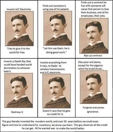 birthday Nikola Tesla science funny - 7649420800