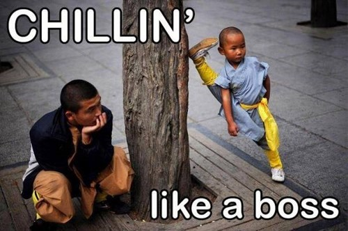 Like a Boss chillin - 7649455104