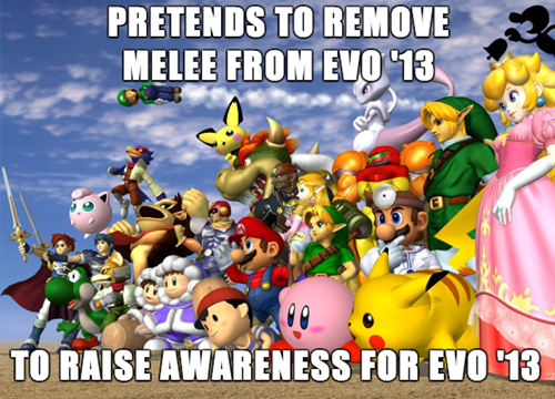 fighting games,EVO,super-smash-bros-melee,nintendo