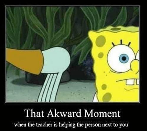 Awkward SpongeBob SquarePants teacher booty funny - 7649502464