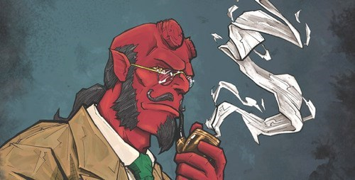 art Fan Art hellboy - 7649586176