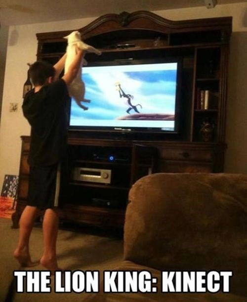 the lion king,kinect,xbox,microsoft