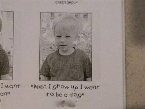 when I grow up kids yearbooks funny - 7649629952