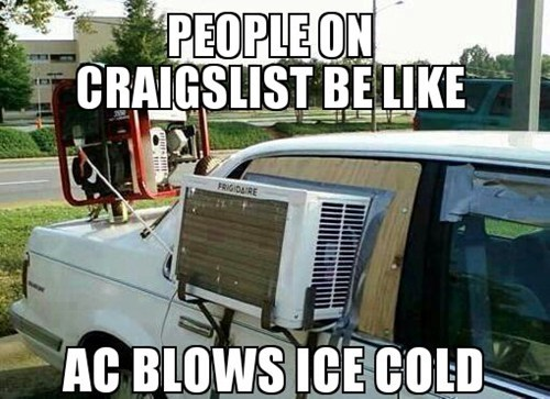 craiglist air conditioning - 7649710336