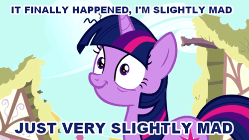 twilight sparkle,mad
