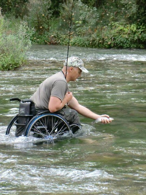 fishing,wheelchair,restoring faith in humanity week,BAMF
