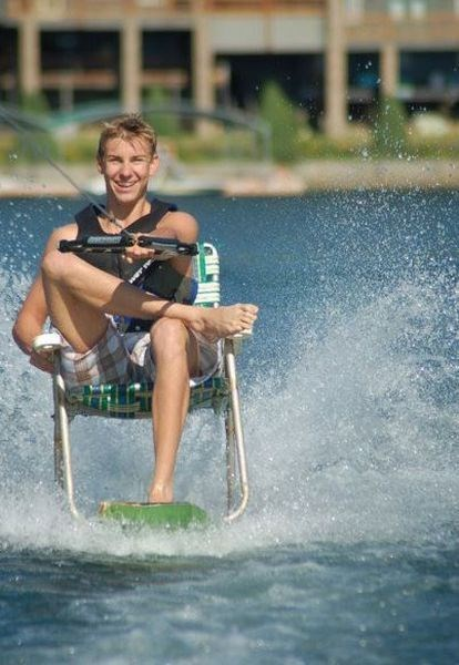 relaxing summer water ski funny - 7649869824