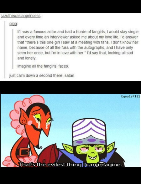 actors evil fangirls funny