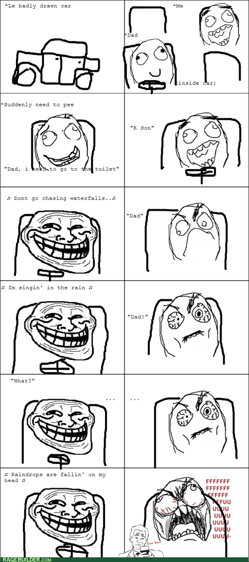 trolling,troll dad,peeing,road trip