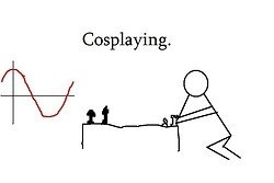 cosplay puns trigonometry math funny - 7651501312