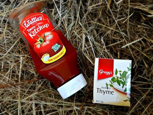 puns thyme ketchup funny - 7651538432
