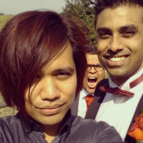 photobomb weddings funny - 7651553792