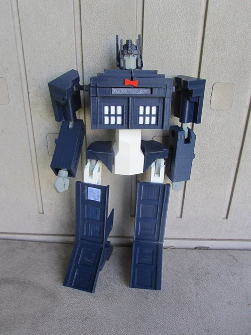 transformers fandom tardis doctor who - 7651773696