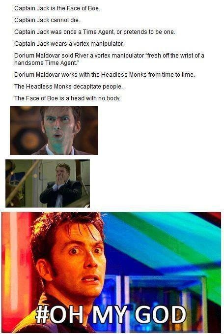 Captain Jack Harkness face of boe - 7651789824