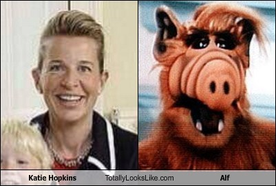 Alf,katie hopkins,totally looks like,funny