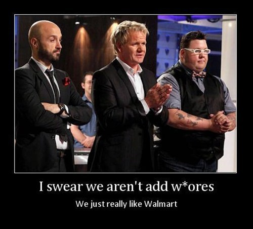 wal mart products hells-kitchen funny - 7651873024