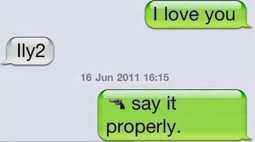 threats relationships text speak funny - 7652005632