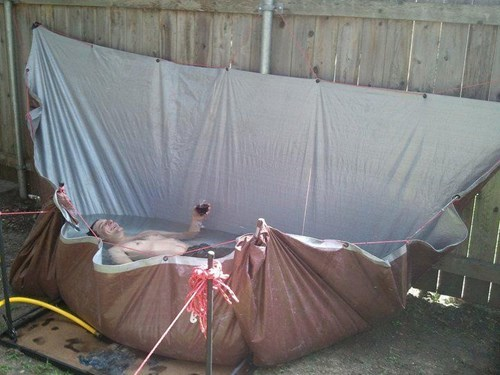 tarps pools funny