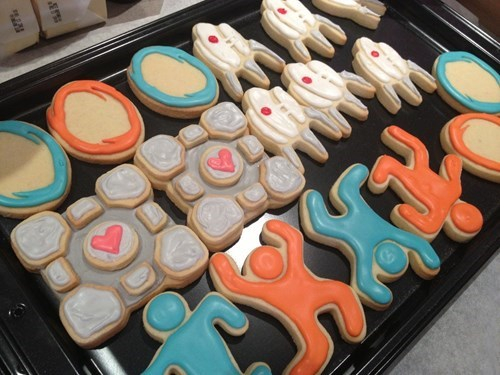 cookies,Portal,noms,video games