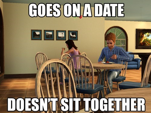 video game logic The Sims - 7652044544