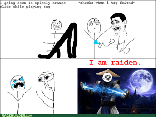raiden,Mortal Kombat,static electricity