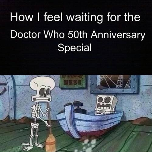 SpongeBob SquarePants doctor who 50th anniversary - 7652073216