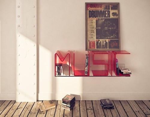 Music design shelf funny - 7652104960