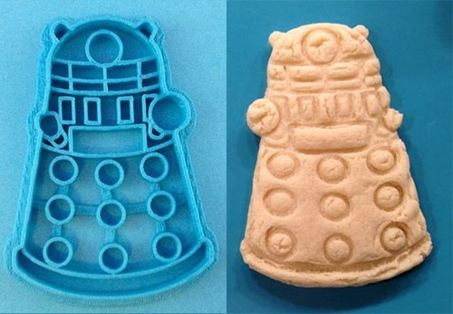dalek baking nerdgasm doctor who funny g rated win
