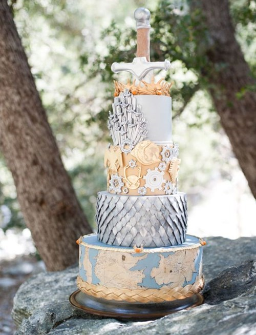 cake Game of Thrones nerdgasm wedding food funny g rated win - 7652142080