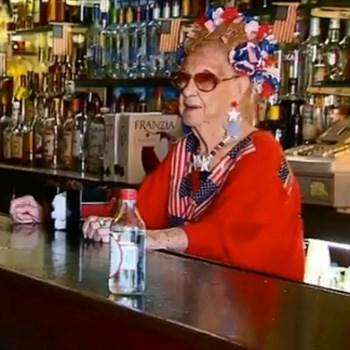 old lady,bartender,98,funny