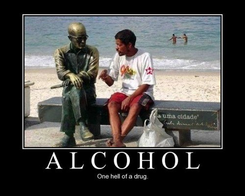 booze drunk statue friends conversation funny - 7652225280