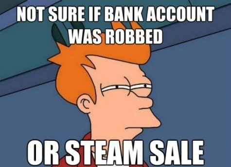 steam not sure if fry meme steam sale - 7652255232