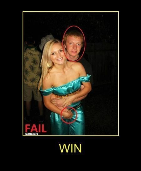 wtf FAIL funny hand placement win - 7652350720
