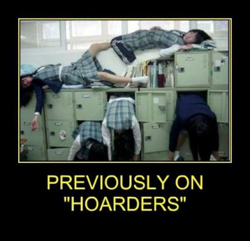 hoarders Japan funny weird
