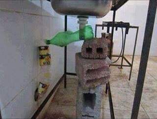 plumbing,Close Enough,plastic bottles,funny