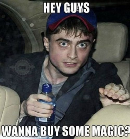 drugs Harry Potter Daniel Radcliffe - 7653188608